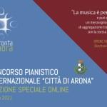 """Concorso Pianistico Internazionale """"Città di Arona"""" - Edizione Speciale Online"""