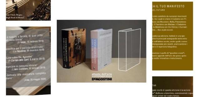Atlante dell'Arte Contemporanea III° edizione  edito da De Agostini: CALL FOR ARRISTS