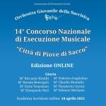 """14° Concorso Nazionale di Esecuzione Musicale """"Città di Piove di Sacco"""""""
