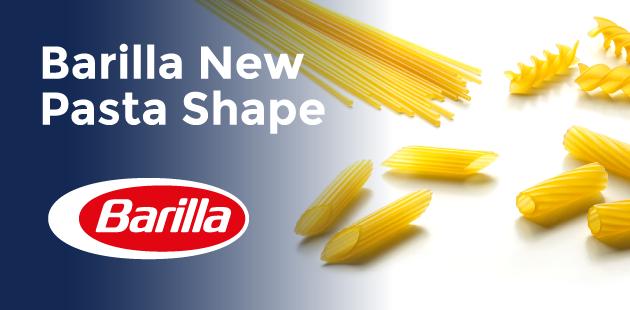 Barilla New Pasta Shape –  Contest internazionale