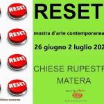 """""""RESET"""" CONCORSO DI ARTI VISIVE"""