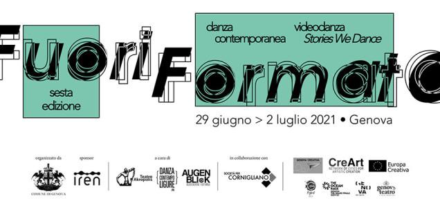 FuoriFormato Festival Internazionale di danza contemporanea e videodanza 2021