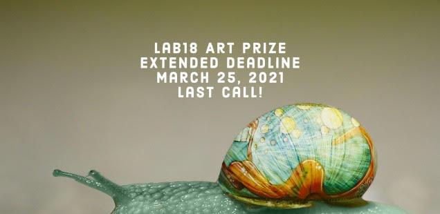 Last call per Lab.18 Art Prize