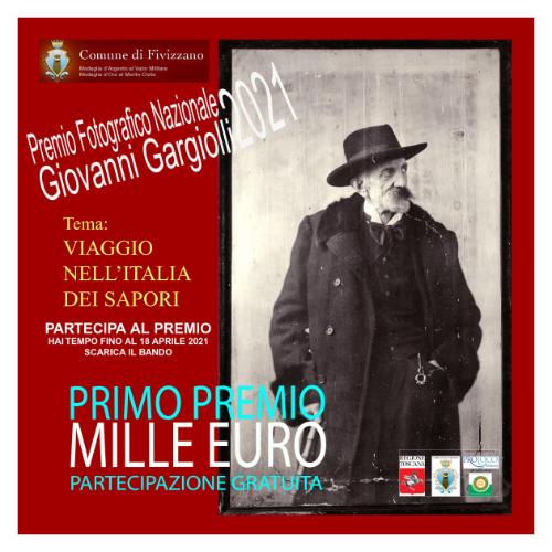 Premio Fotografico Nazionale Giovanni Gargiolli 2021