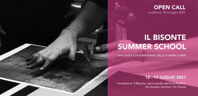 Il Bisonte Summer School.  Linguaggi contemporanei della Stampa d'Arte.