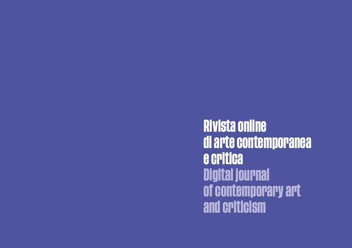 Senzacornice –  Rivista online di arte contemporanea e critica