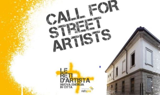 Reti d'artista – Call for Street Artists