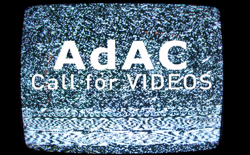 CALL for VIDEOS di AdAC - Archivio d'Arte Contemporanea dell'Università di Genova