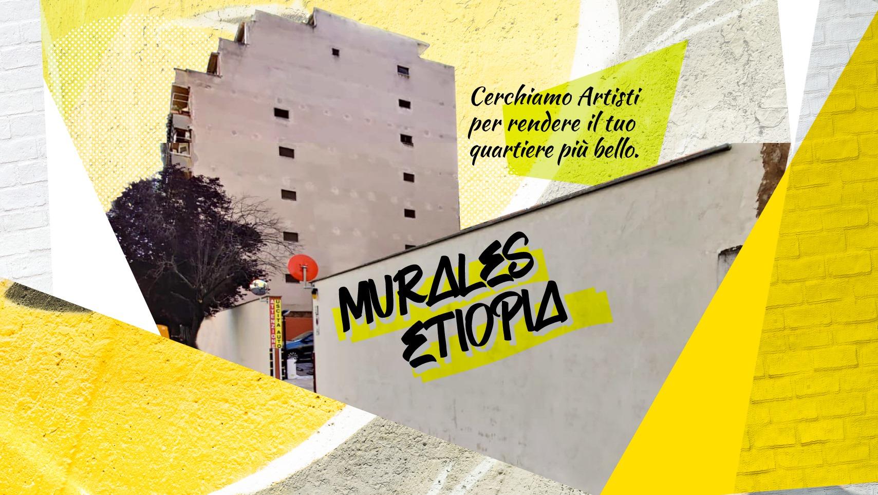 Murales Etiopia, concorso internazionale per street artist