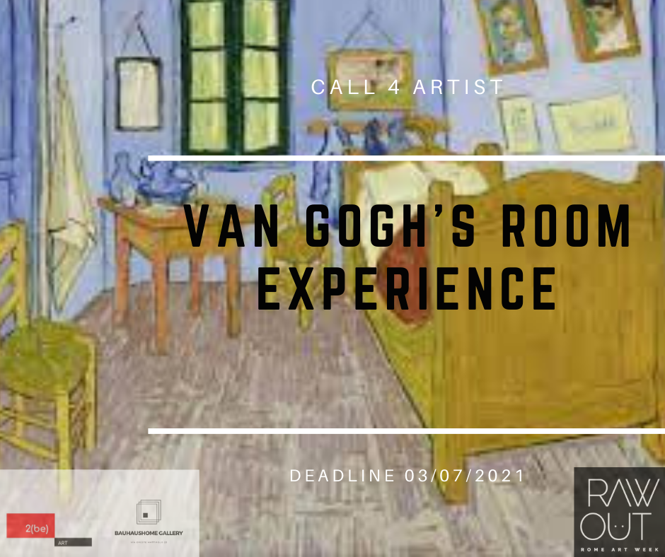 Van Gogh's Room Experience     CALL FOR ARTISTS FALSI D' AUTORE