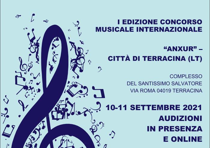 """Concorso Musicale Internazionale """"Anxur"""""""