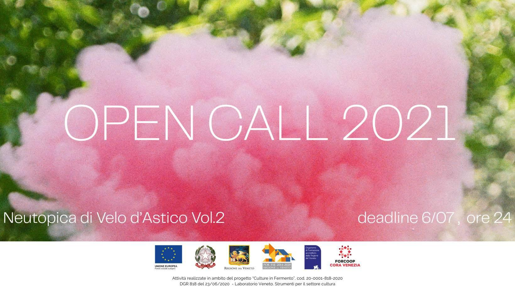 Neutopica di Velo d'Astico vol.2 Open Call 2021