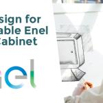 Nuovo design per una cassetta stradale Enel smart e sostenibile