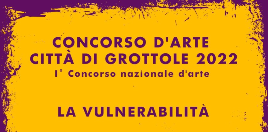 Concorso Nazionale d'arte città di Grottole 2022
