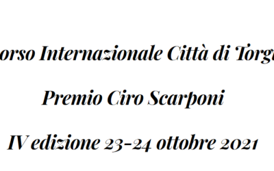 Concorso Internazionale Città di Torgiano Premio Ciro Scarponi