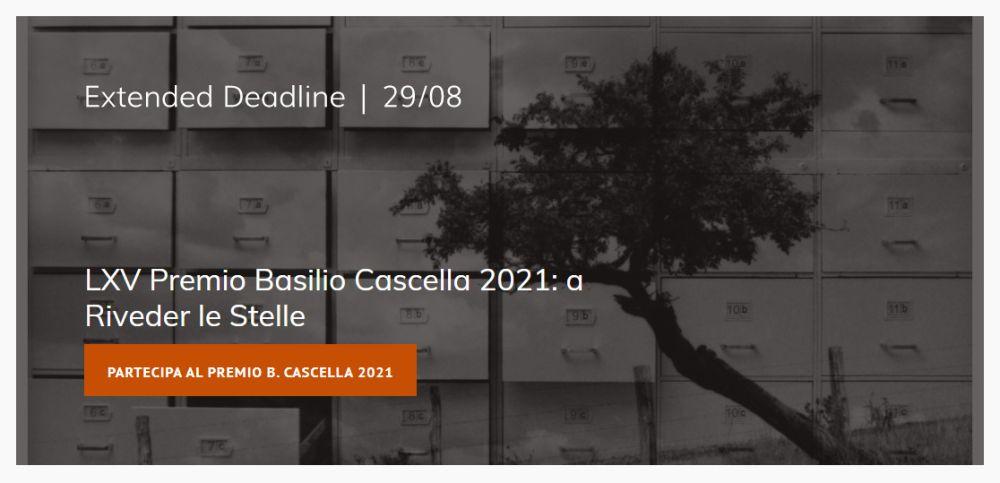 LXV Premio Basilio Cascella 2021 – Extended Open Call