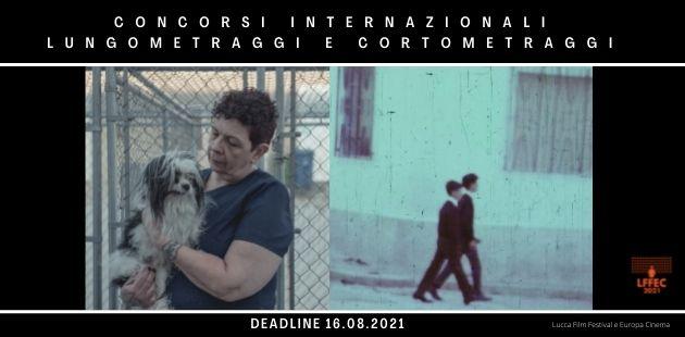 Concorsi internazionali di Lungometraggi e Cortometraggi del Lucca Film Festival e Europa Cinema 2021