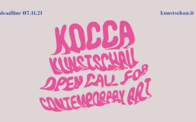 KOCCA Kunstschau Open Call for Contemporary Art