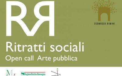 RITRATTI SOCIALI. Open call di arte pubblica